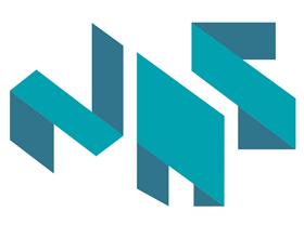 nas aluminum glass logo