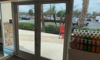 Commercial Storefront Door, Impact Resistant